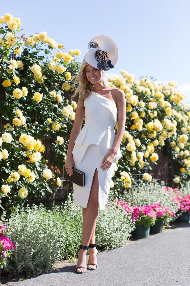 Who: Renae Ayris<br> Event: Derby Day <br> Location: Melbourne <br>