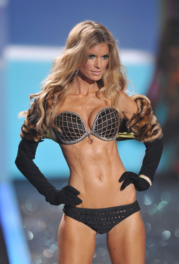 Year: 2009 <br><br> Model: Marisa Miller <br><br> Bra: Harlequin Fantasy Bra <br><br> Cost: $3 million