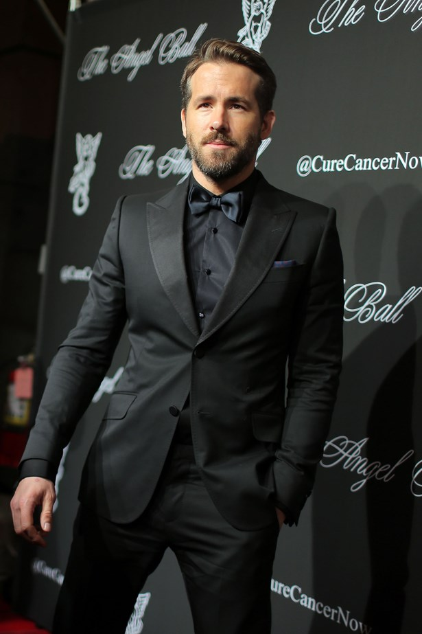 Manliness personified. Thank you, Ryan Reynolds.