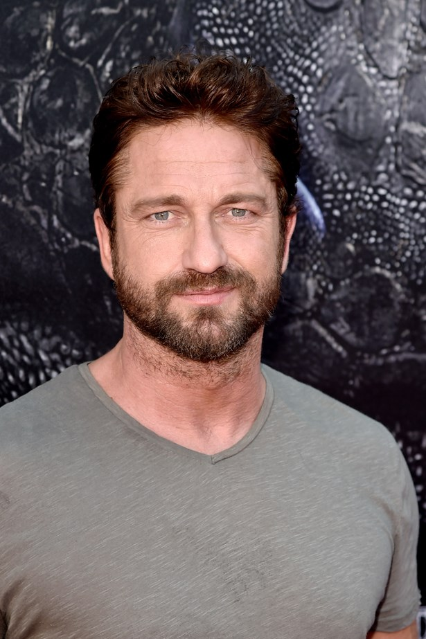 Don't you just want to rub Gerard Butler's manly chin stubble? No? OK, it's just us then.