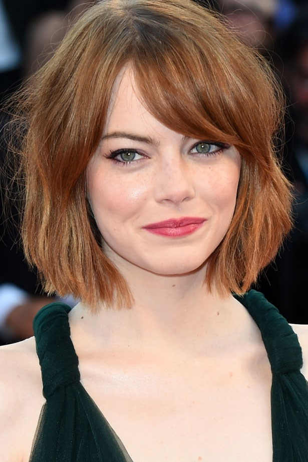"""Later that day the actress debuted the <a href=""""http://www.elle.com.au/news/beauty-news/2014/8/is-this-the-cut-of-summer/"""">unofficial cut of summer</a> – a blunt, tousled bob."""