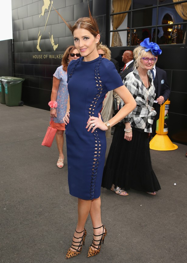 Who: Kate Waterhouse <br> Location: Melbourne <br> Event: Melbourne Cup 2014 <br>