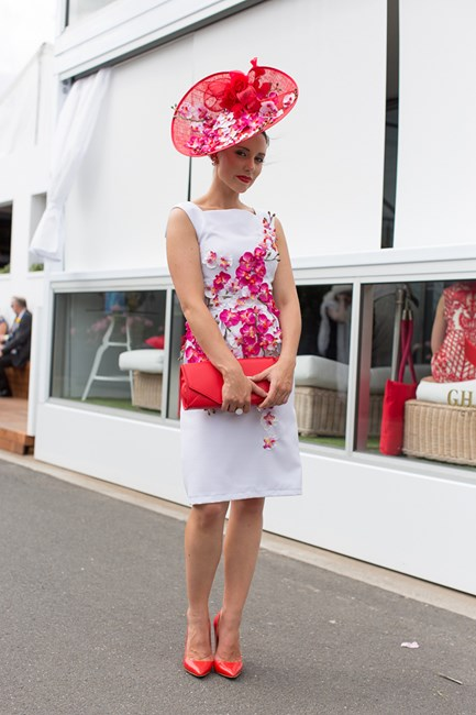Deena McIntyre at the Melbourne Cup 2014