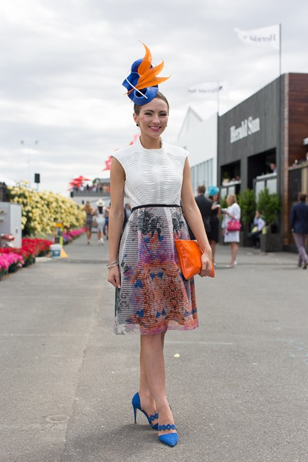 Georgia Gardiner at the Melbourne Cup 2014