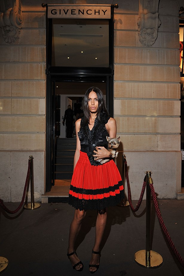 Lea T has been a long-time muse to Givenchy's Riccardo Tisci.