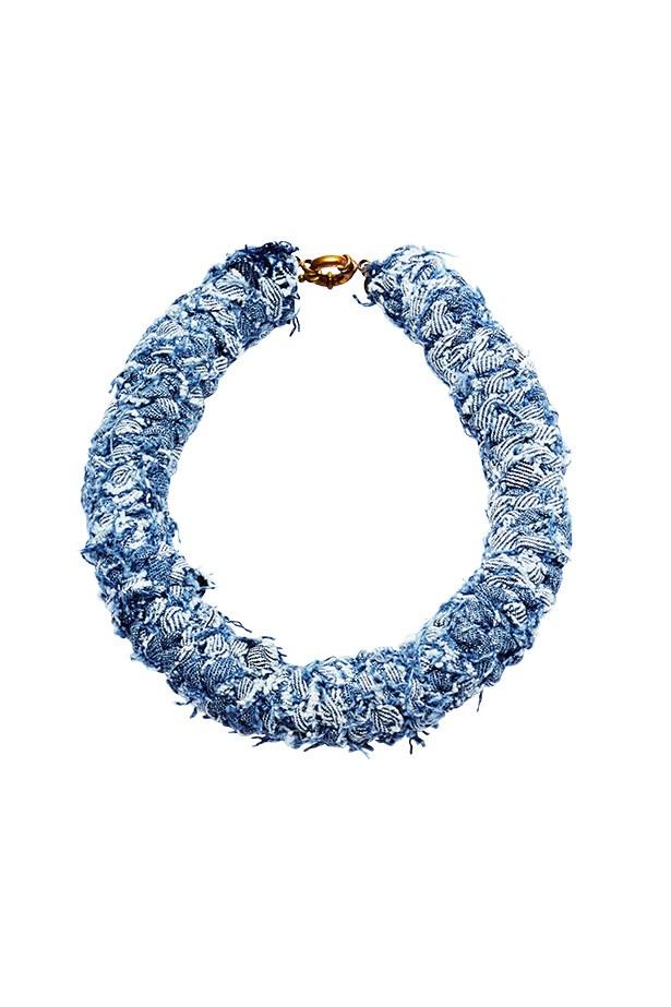 Necklace, $270, 2 by Lyn and Tony, 2lynandtony.bigcartel.com