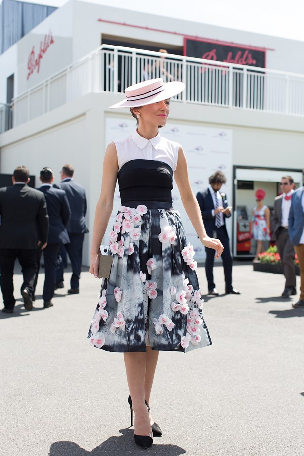 Name: Georgia Gardiner<br> Event: Crown Oaks Day 2014 <br> Location: Melbourne <br> Image: Liz Mcleish of Streetsmith.com.au