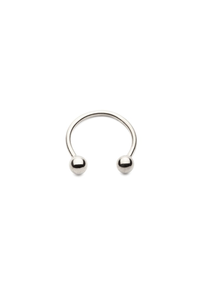 "Faux nose ring, $59, Amber Sceats, <a href=""http://www.ambersceats.com"">ambersceats.com</a>"