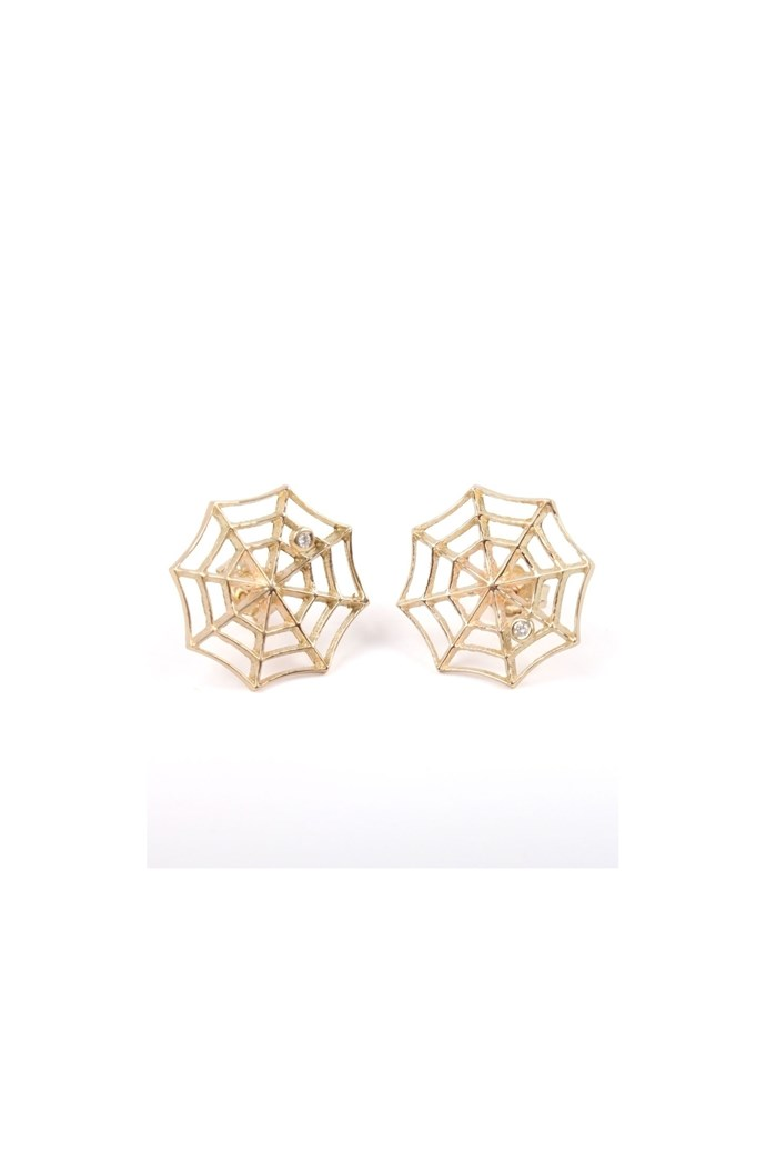 "Earrings, approx. $397 each, Jennie Kwon,<a href=""http://www.catbirdnyc.com""> catbirdnyc.com</a>"