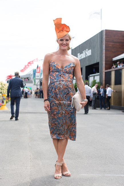Ash Good at Emirates Stakes Day 2014 in Melbourne