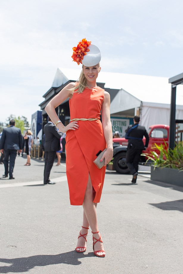 Name: Crystal Kimber<br> Event: Emirates Stakes Day 2014 <br> Location: Melbourne <br> Image: Liz Mcleish of Streetsmith.com.au