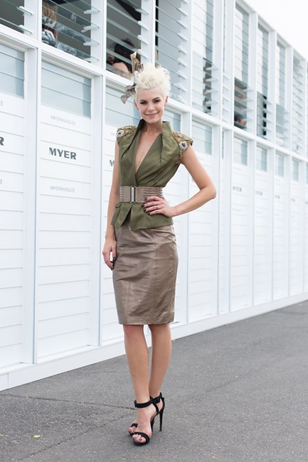 Kate Peck at Emirates Stakes Day 2014