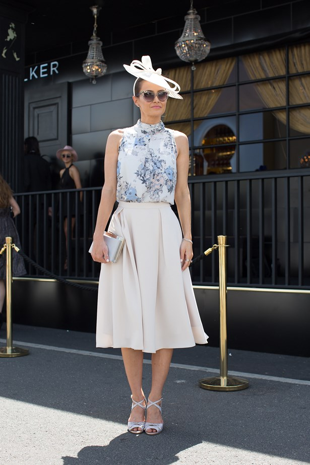 Name: Kylie Brown <br> Event: Emirates Stakes Day 2014 <br> Location: Melbourne <br> Image: Liz Mcleish of Streetsmith.com.au