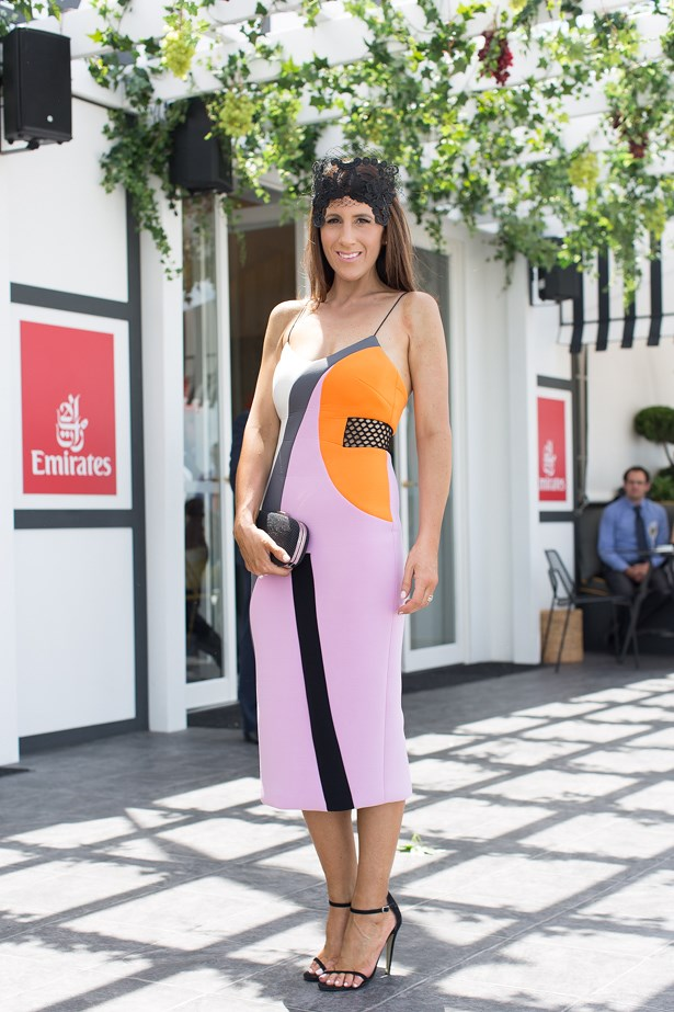 Name: Lana Wilkinson<br> Event: Emirates Stakes Day 2014 <br> Location: Melbourne <br> Image: Liz Mcleish of Streetsmith.com.au