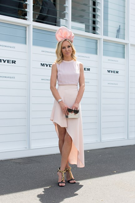 Rachel Holland at Emirates Stakes Day 2014 in Melbourne