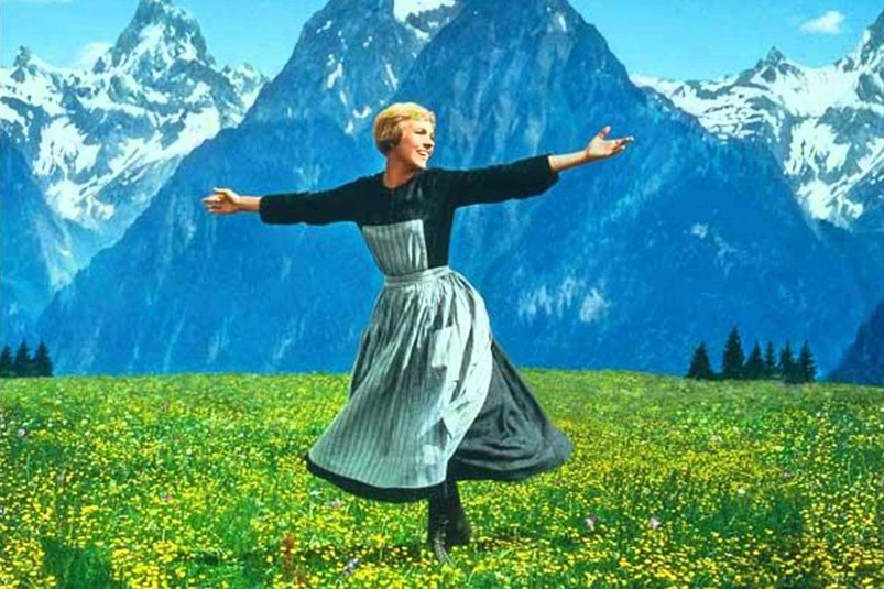 Julie Andrews The Hills are Alive