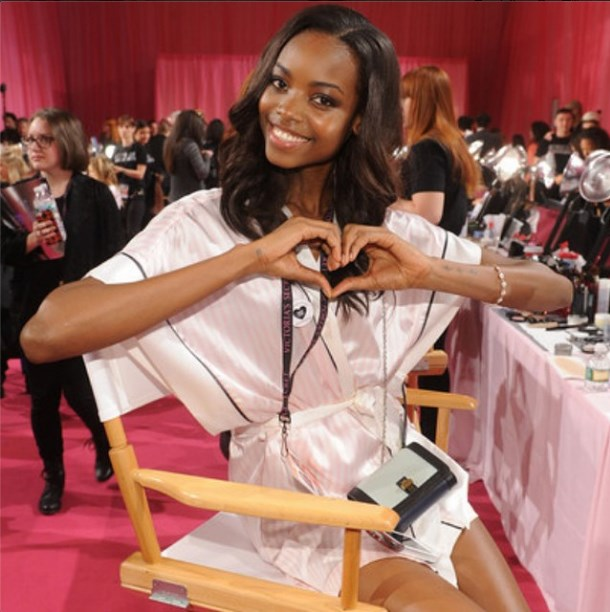 """<strong>Maria Borges</strong> <br><br> @victoriassecret I feel so Honored to be part of such an incredible Project #VSfashionshow2014 ... I have no words to describe who happy and excited I am. Can't wait for #London. Thank you Again for the opportunity!! <br><br> @mariaborges28 via <a href=""""http://instagram.com/p/u93WOEi-Y2/?modal=true"""">Instagram </a>"""