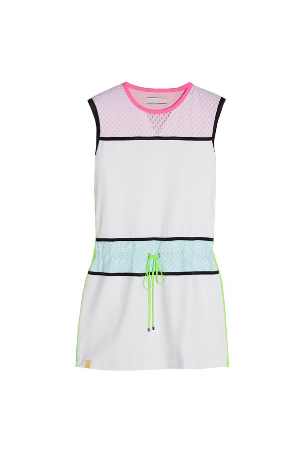"<strong>Brand: </strong>Montreal London <br><br> <strong>Why: </strong>Designed to be flattering and functional, this tennis line is stylish enough for post-match drinks. <br><br> <strong>The buy: </strong>The colour-spliced tennis dresses and matching visors <br><br> <strong>Shop: </strong>Tennis dress, approx $398, Monreal London at Net-a-Porter, <a href=""http://www.net-a-porter.com/au/en/product/457568"">netaporter.com</a>"