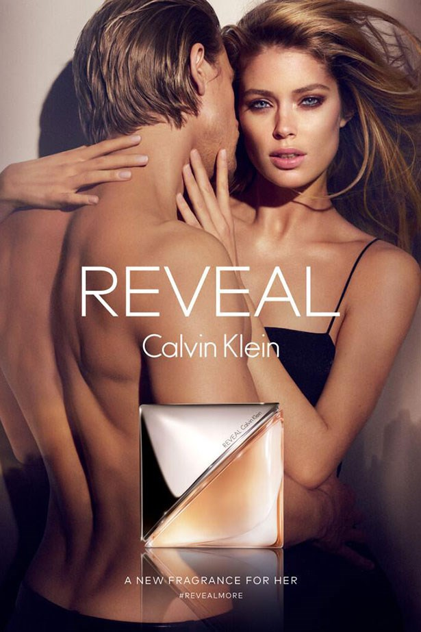 Charlie Hunnam and Doutzen Kroes for Calvin Klein