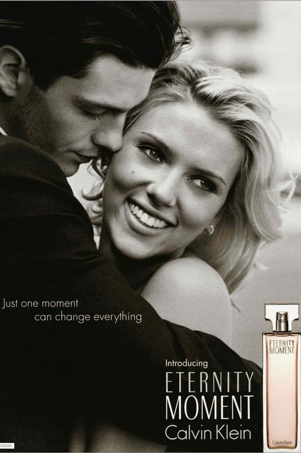 Scarlett Johansson, then 20, became the face of <em>Eternity Moment</em> in 2004.