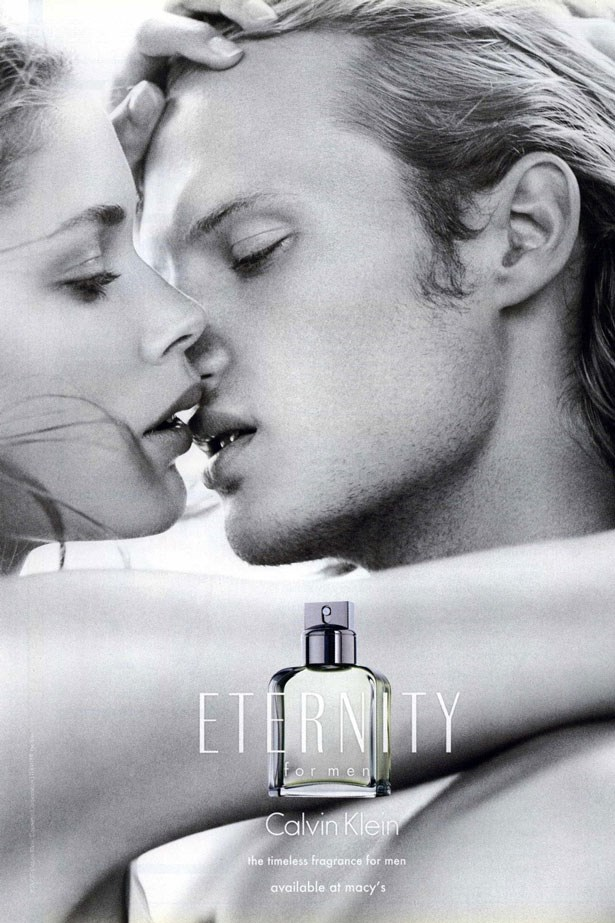 In 2008 Dutch model Doutzen Kroes made her debut in the <em>Eternity For Men</em> campaign.