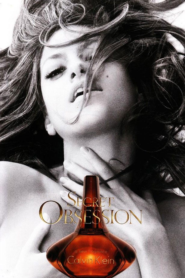 In 2008, the Eva Mendes TVC for <em>Secret Obsession</em> was banned on USA television.