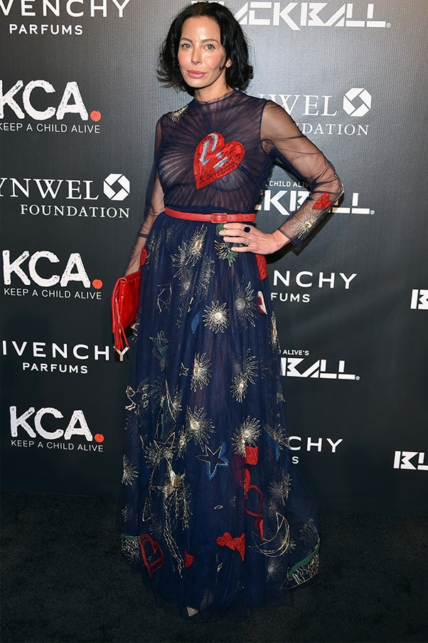 Lisa Maria Falcone wearing Valentino AW14-15