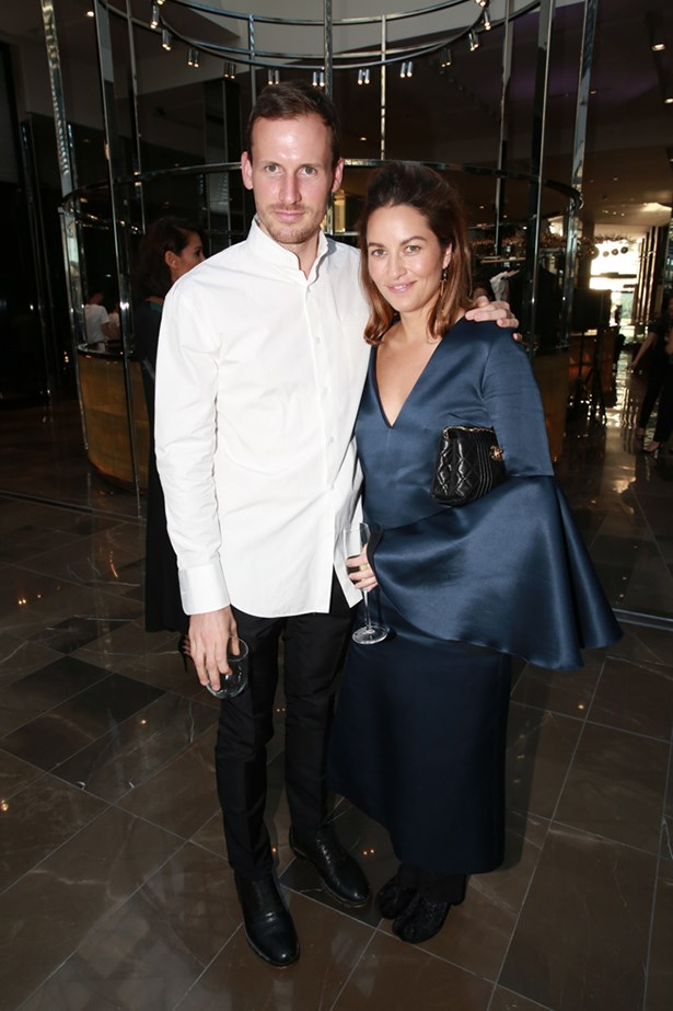 Australian designers Dion Lee and Kym Ellery at the launch of InHabit, Westfield Doncaster