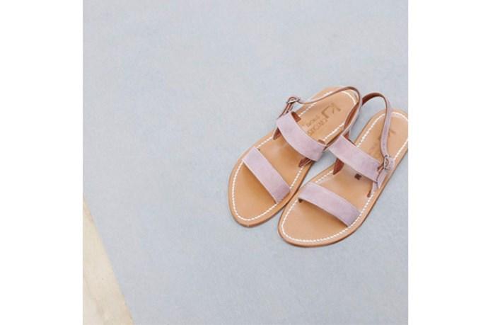 Sandal, $298, K Jacques St Tropez, bloodorange.com.au