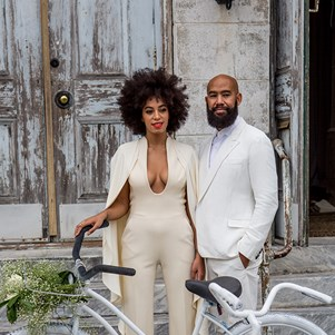Solange Knowles Wedding picture