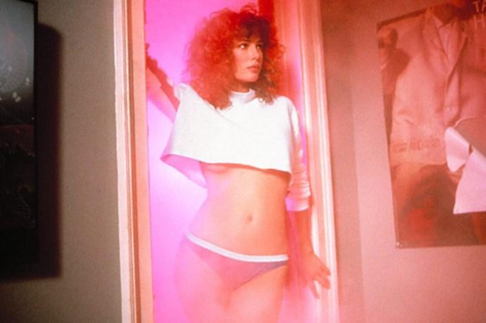 "Kelly LeBrock in the 1985 classic <em>Weird Science </em><br><br> Image Courtesy of <a href=""http://www.ew.com/ew/"">Entertainment Weekly </a>"