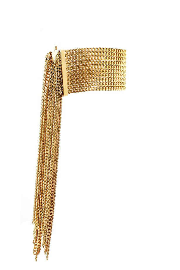 "Bracelet, $565, Chloe, <a href=""http://www.matchesfashion.com/product/207855"">matchesfashion.com</a>"