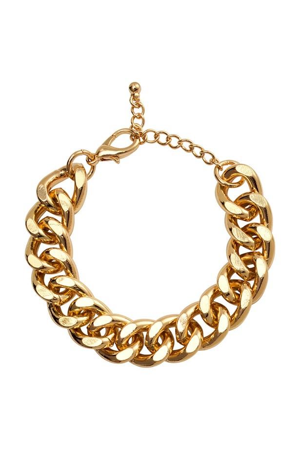 """Bracelet, $5.95, H&M, <a href=""""http://www.hm.com/au/product/55830?article=55830-A"""">hm.com/au</a>"""