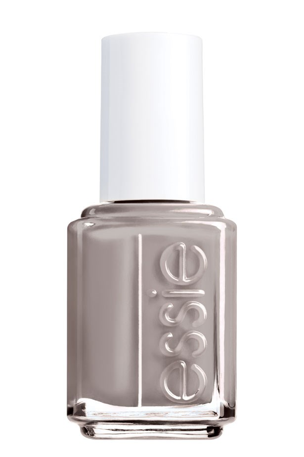 <p><strong>Nails:</strong> An understated milky grey keeps nails sophisticated.</p> <p><em>Master Plan, $16.95, Essie, 1300 369 327</em></p>
