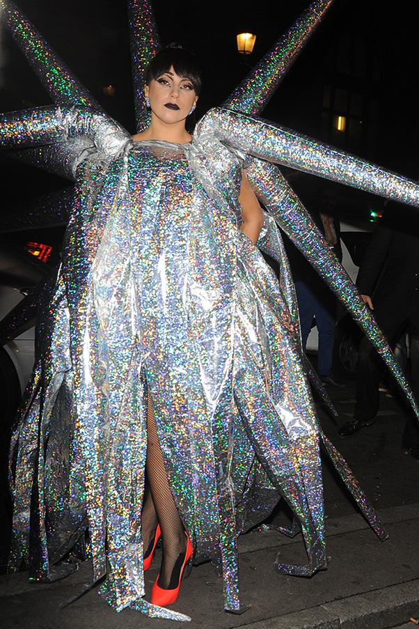Lady Gaga in Paris