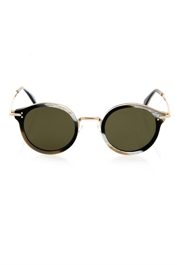 "Sunglasses, $567, Celine, <a href=""http://www.matchesfashion.com/product/1003573"">matchesfashion.com</a>"
