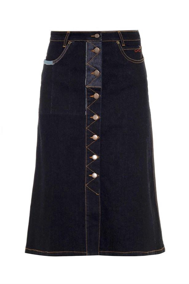 "Skirt, $415, Preen Line, <a href=""http://www.matchesfashion.com/product/1001226"">matchesfashion.com</a>"