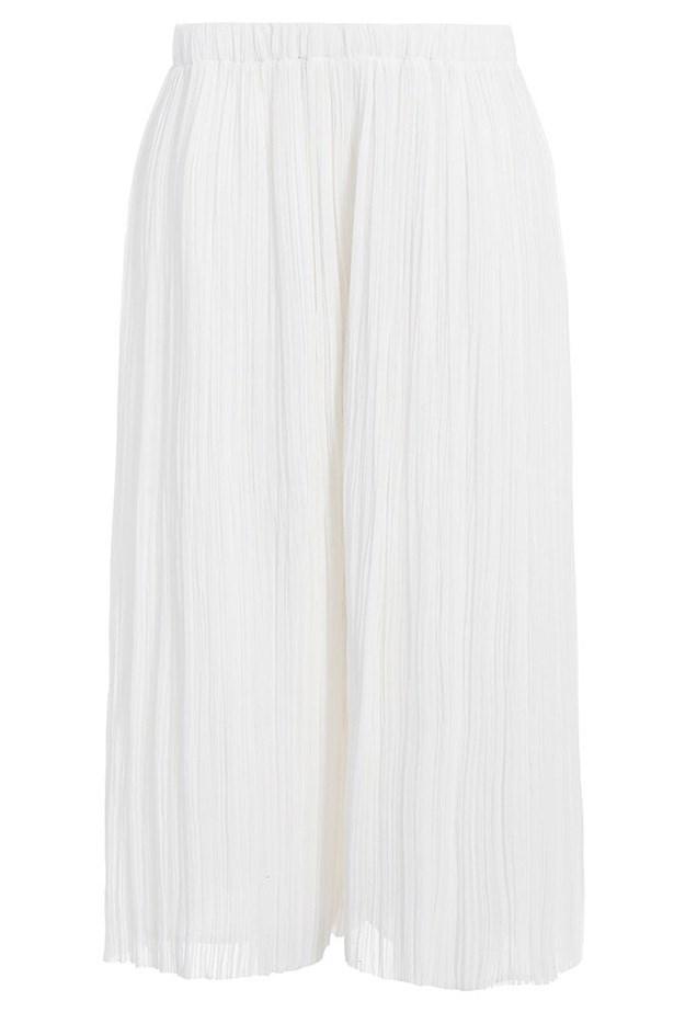 "Culottes, $450, Zimmermann, <a href=""http://www.zimmermannwear.com/readytowear/clothing/riot-scrunch-capri.html"">zimmermannwear.com</a>"