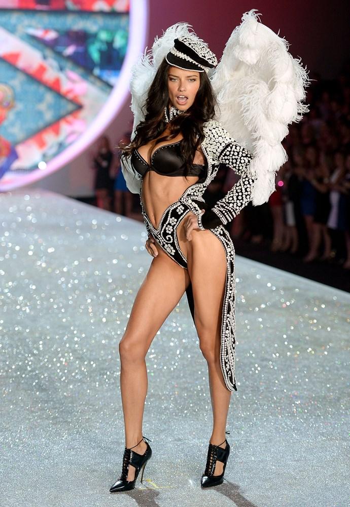 Model: Adriana Lima