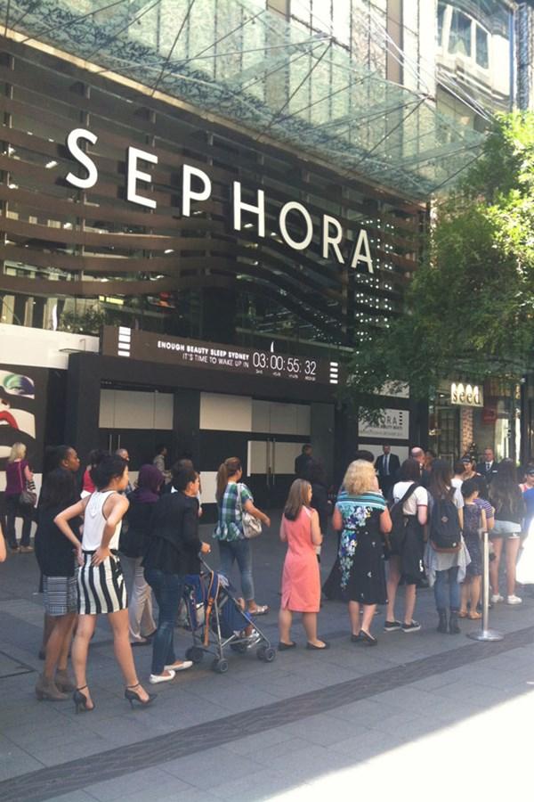 Sephora opens in Sydney Australia