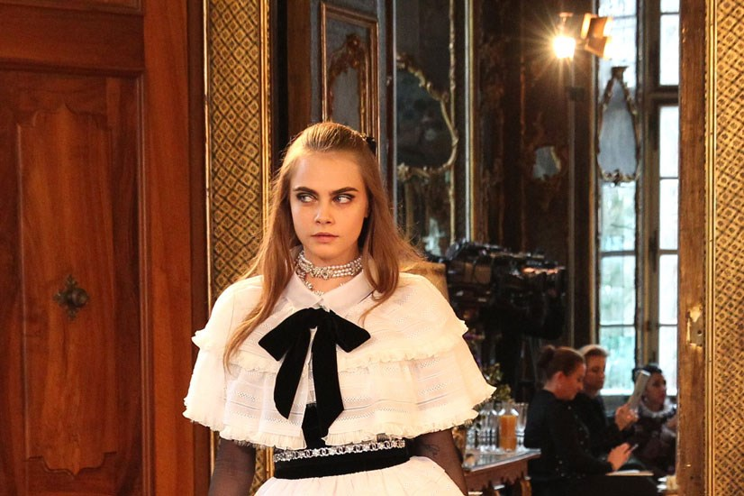 ...and Cara Delevingne closed it.