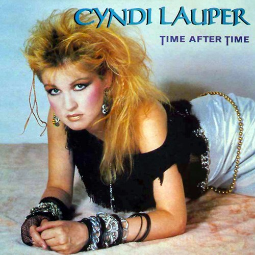 'Time after time' by Cyndi Lauper