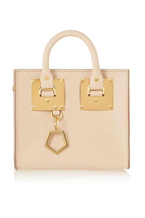 """Bag, $685, Sophie Hulme, <a href=""""http://www.net-a-porter.com/au/en/product/507987"""">net-a-porter.com</a>"""
