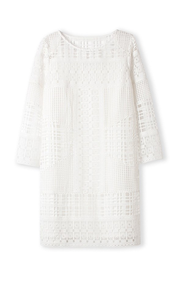 "Dress, $229, Country Road, <a href=""http://www.countryroad.com.au/shop/woman/clothing/dresses/broderie-detail-shift-dress-60170651"">countryroad.com.au</a>"
