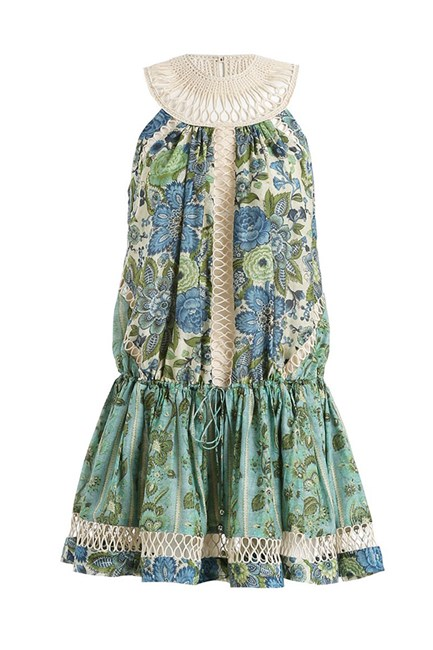 Dress, $450, Zimmermann, zimmermannwear.com