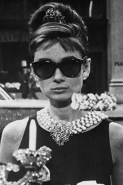Audrey Hepburn in <em>Breakfast at Tiffany's</em> (1961) is the perennially picture-perfect frame.