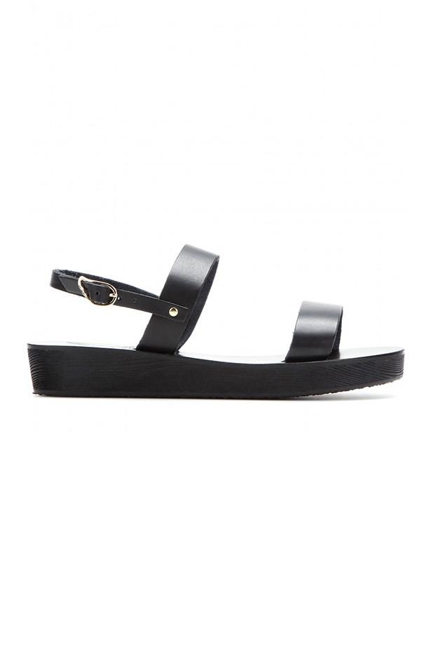 "Flatform, $255, Ancient Greek Sandals, <a href=""http://www.mytheresa.com/en-au/clio-platform-leather-sandals.html "">mytheresa.com</a>"