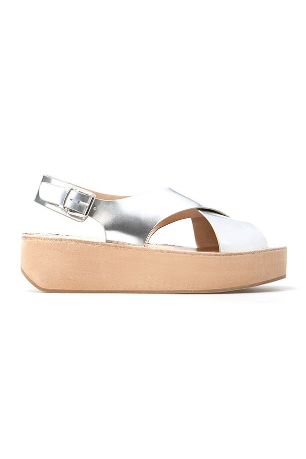 "Flatform, $129, Country Road, <a href=""http://www.countryroad.com .au/shop/woman/shoes/sandals-and-thongs/joanie-flatform-60168371"">countryroad.com.au</a>"