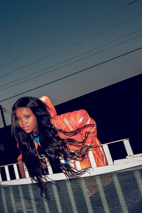 <strong>Tkay Maidza</strong><BR> ELLE favourite and Adelaide rapper Maidza - whose singing/rapping interchanges have been likened to Azealia Banks - has just released her debut EP 'Switch Tape'. It features garage pop single 'Switch Lanes 'and the darker, tougher, diplo-esque 'Finish Them' produced by Bok Bok. We're predicting big things for this 18-year-old.