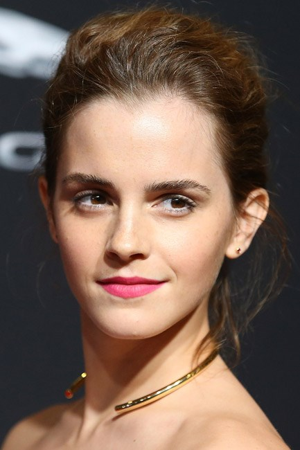 <b>The horseshoe choker</b><br> The choker is here to stay and its modern manifestation puts a back-to-front spin on the modern classic.<br><br> <i>Emma Watson in Dior</i>